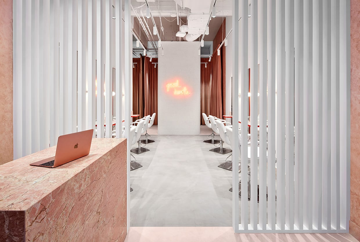 The Blow Australia Hair Salon in Melbourne CBD by Tecture | Yellowtrace