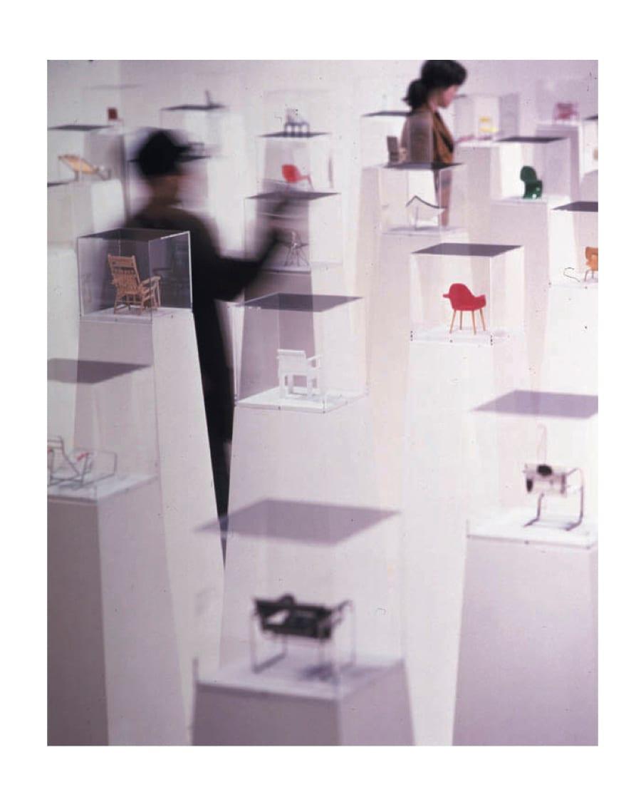 Vitra 100 Miniatures Exhibition Arrives Living Edge | Yellowtrace