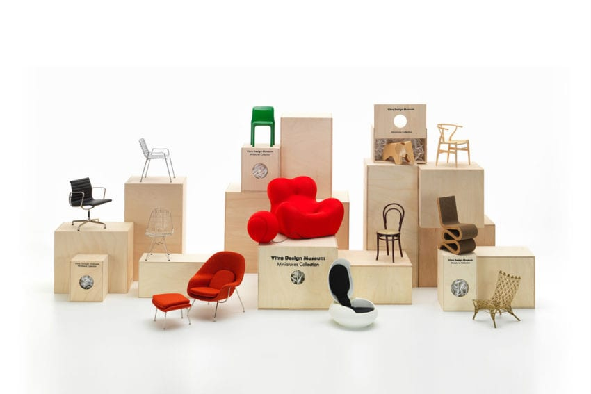 Vitra 100 Miniatures Arrives at Living Edge | Yellowtrace