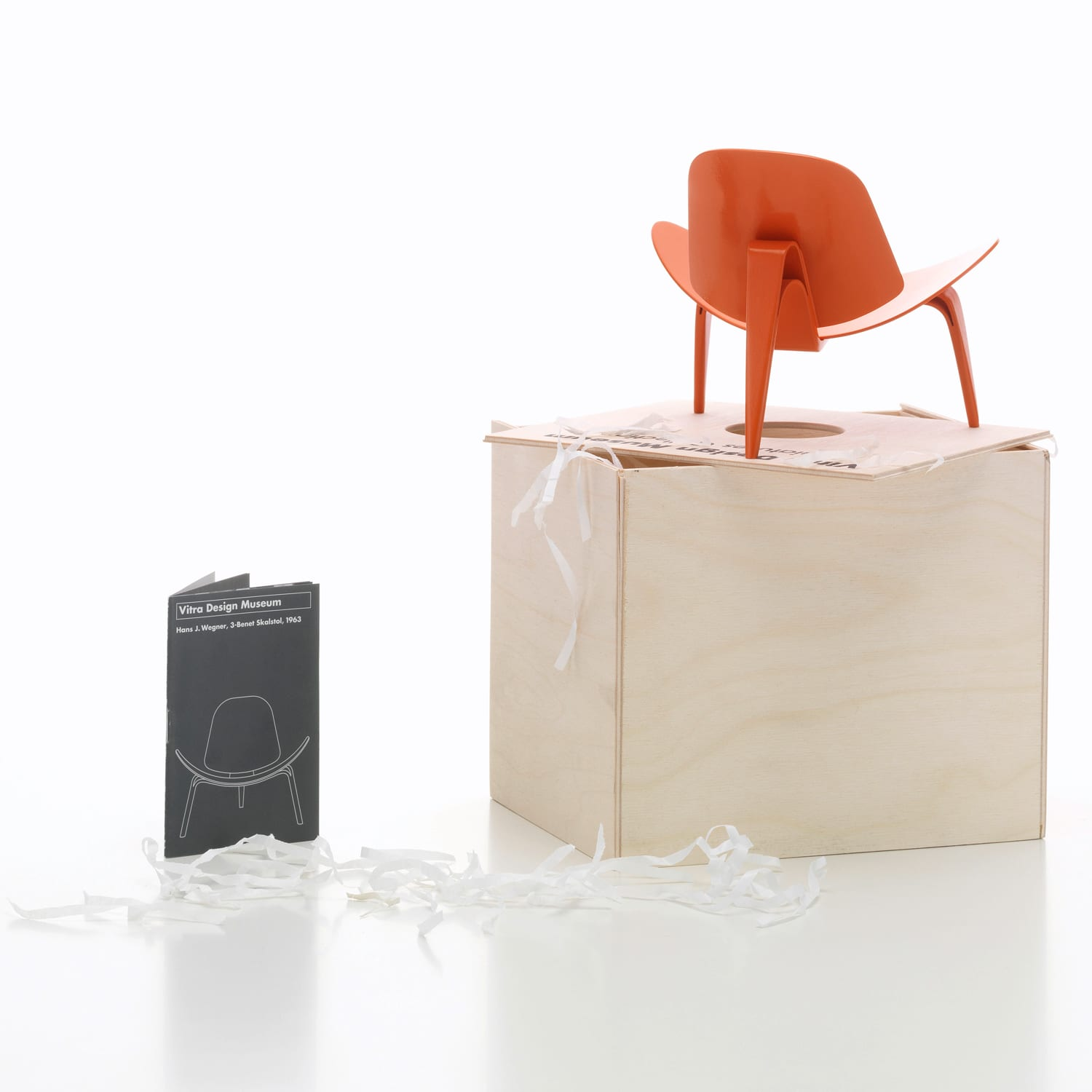 Vitra Miniatures 3-Benet Skalstol Living Edge | Yellowtrace