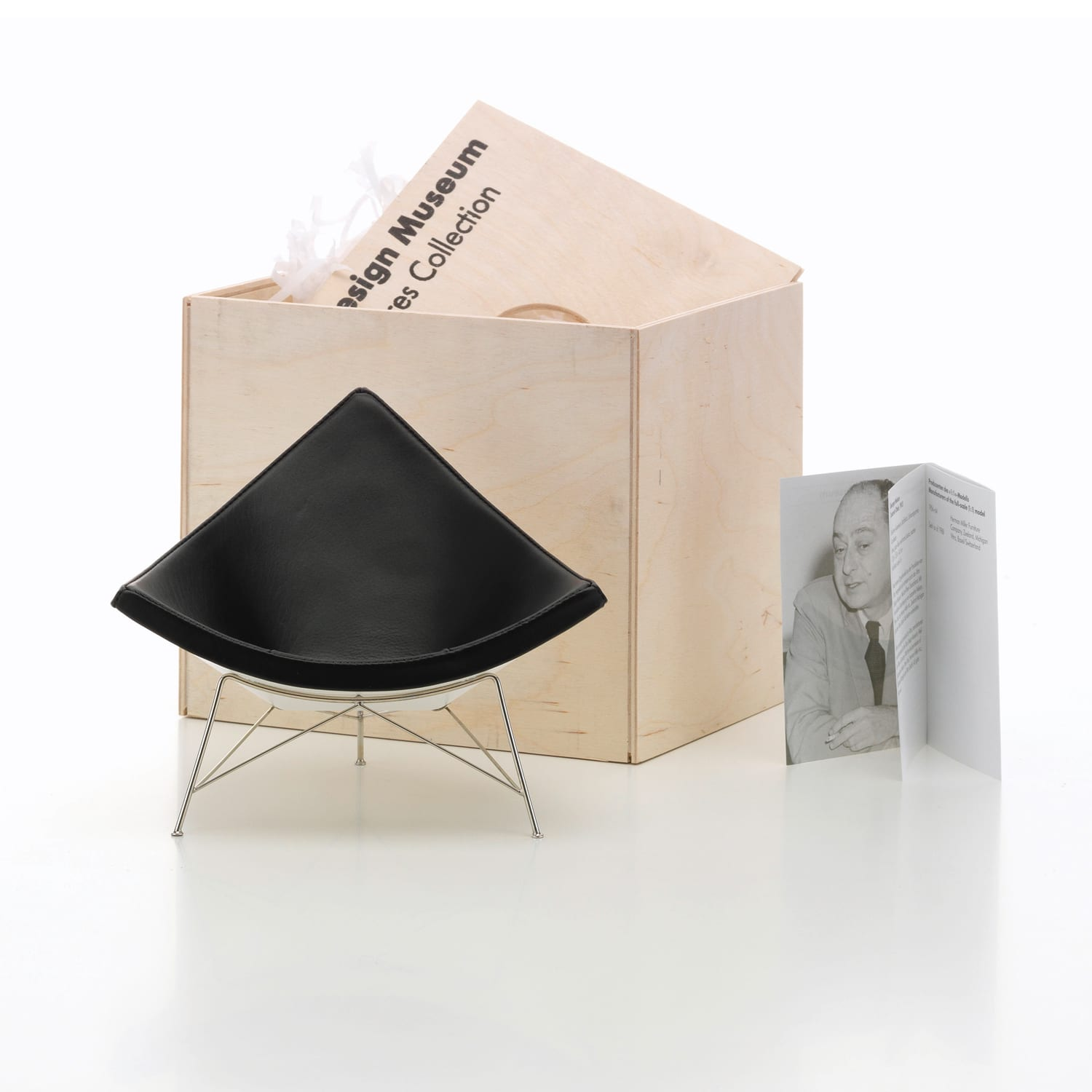Vitra Miniatures Coconut Chair Living Edge | Yellowtrace
