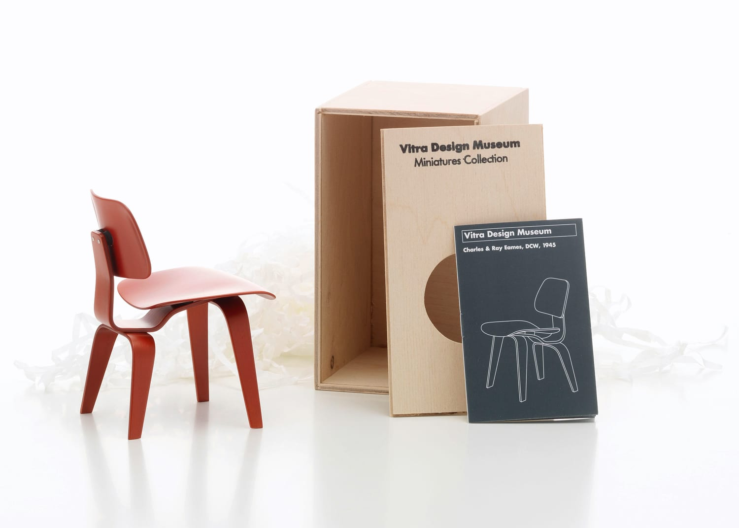 Vitra Miniatures DCW Living Edge | Yellowtrace