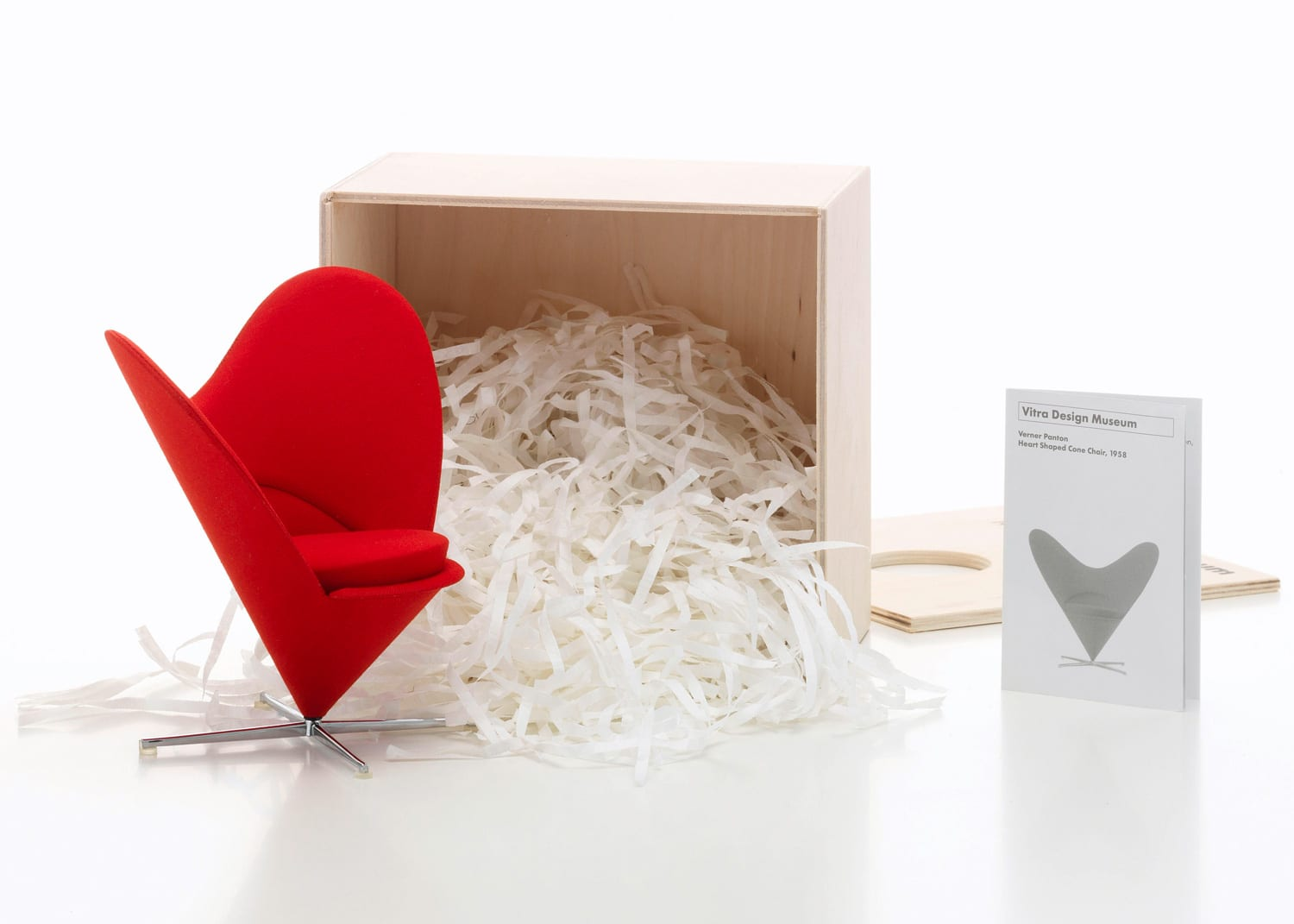 Vitra Miniatures Heart Shaped Cone Chair Living Edge | Yellowtrace