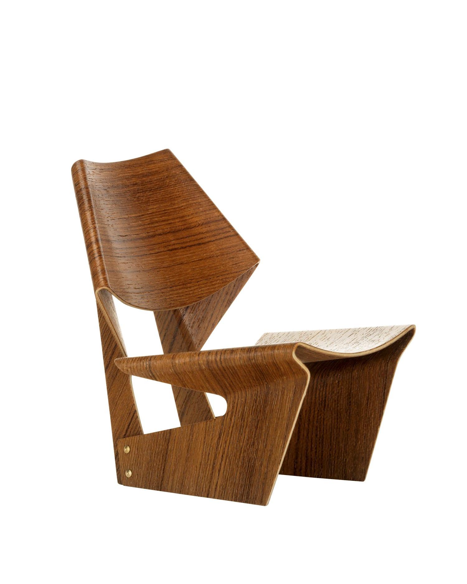 Vitra Miniatures Laminated Chair Living Edge | Yellowtrace