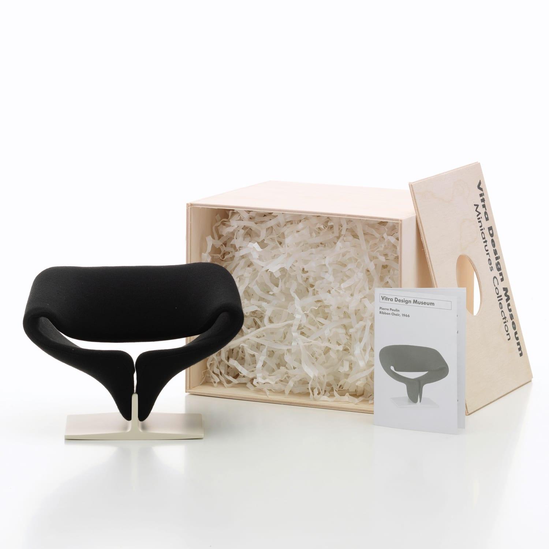 Vitra Miniatures Ribbon Chair Living Edge | Yellowtrace