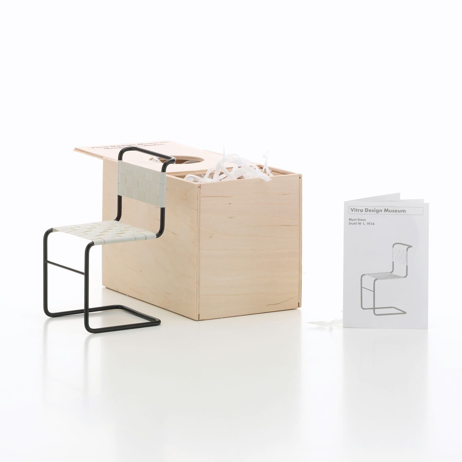 Vitra Miniatures Stuhl W1 Living Edge | Yellowtrace