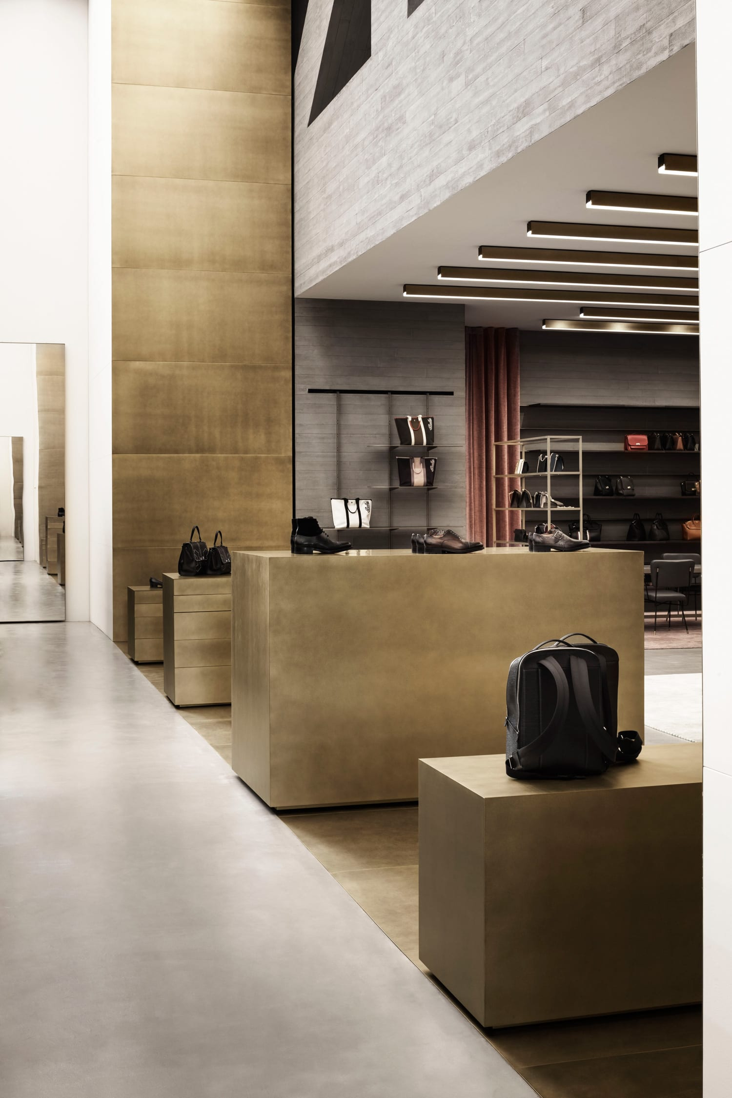 Bally Showroom in Milan by storagemilano | Yellowtrace