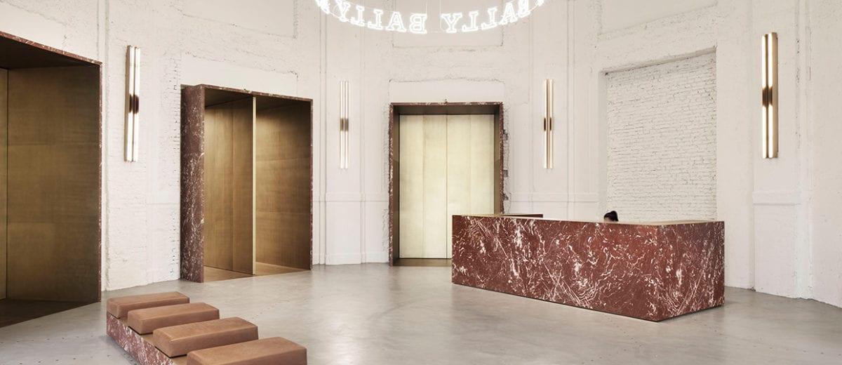 Bally Showroom in Milan by storagemilano | Yellowtrace