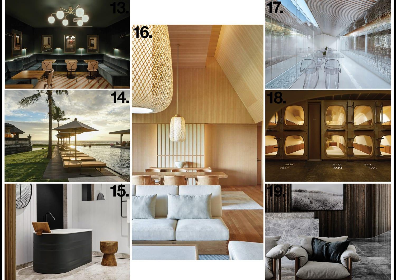 Hotel Interiors & Architecture 2018 Archive | Yellowtrace