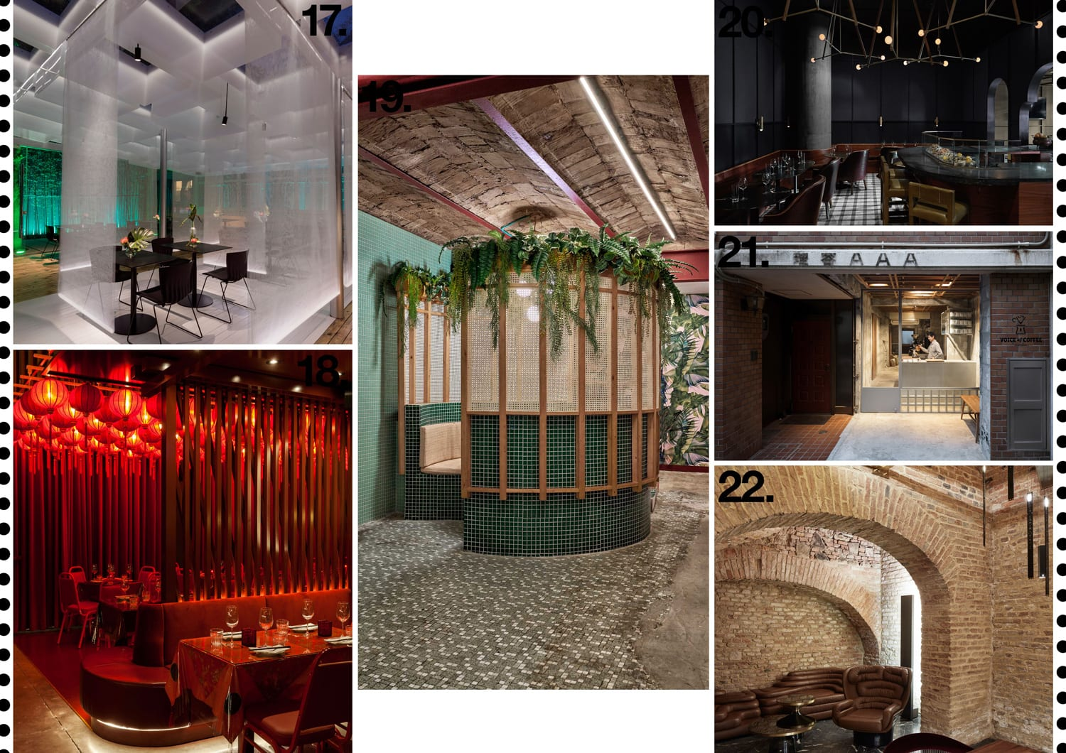 Hospitality & Restaurant Interiors 2018 Archive | Yellowtrace