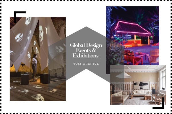 Global Events & Exhibitions Archive 2018 Yellowtrace