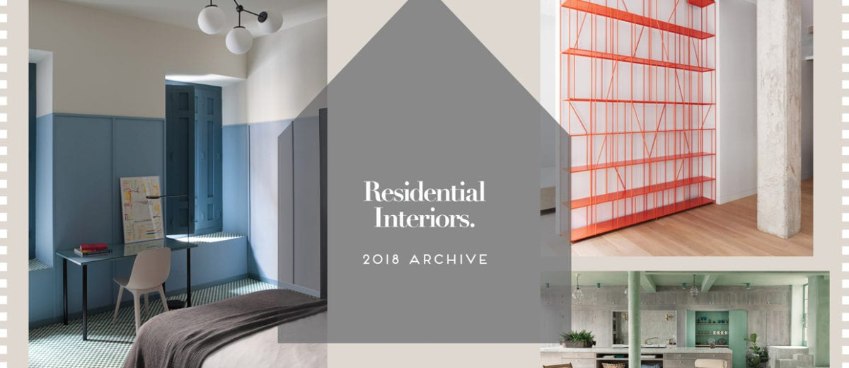 Residential Interiors 2018 Archive | Yellowtrace
