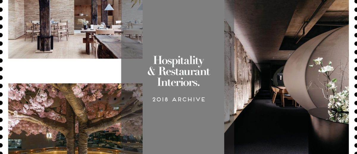 Hospitality & Restaurant Interiors 2018 Archive | Yellowtrace