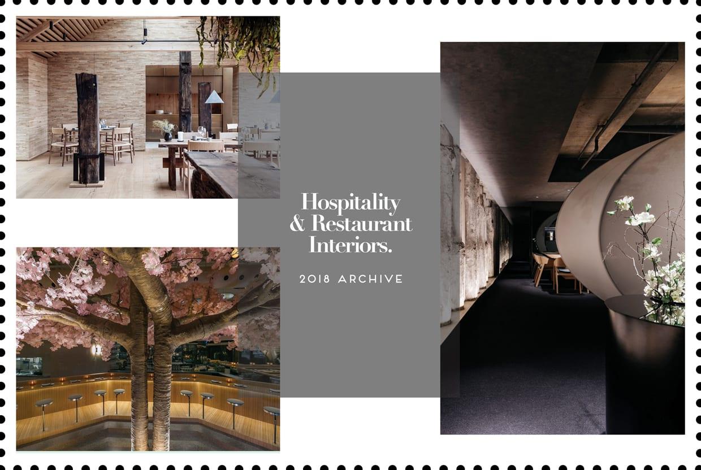 Hospitality & Restaurant Interiors 2018 Archive   Yellowtrace