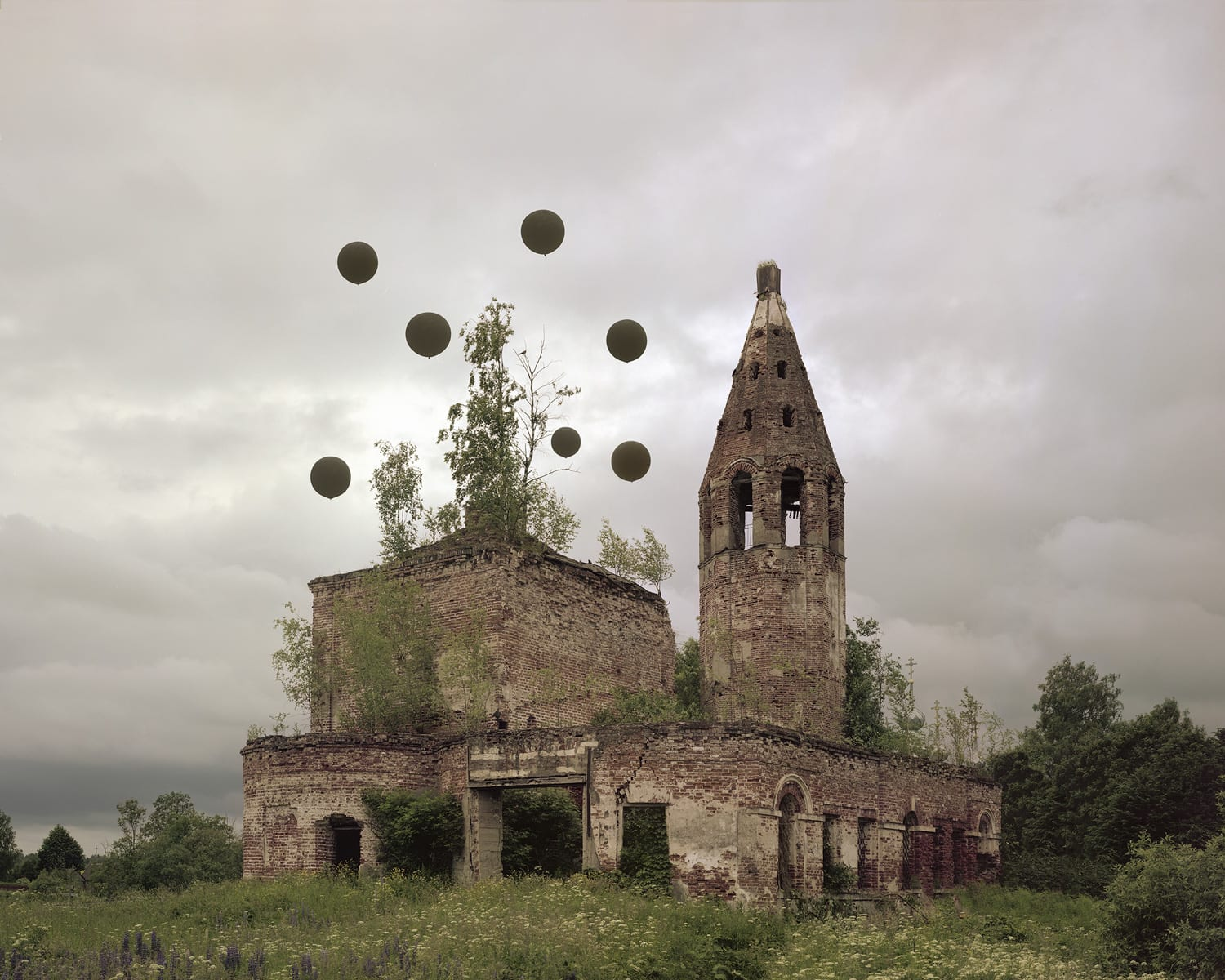 Abandoned Russian Monuments Reimagined & Documented by Danila Tkachenko | Yellowtrace
