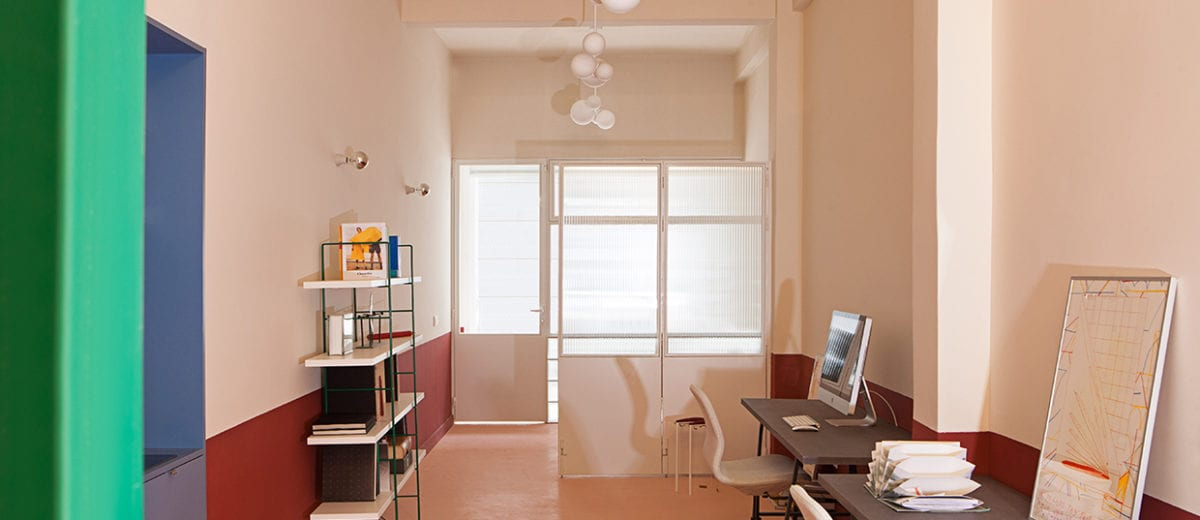 Small Madrid Apartment Transformed into an Office by Plutarco Experimento   Yellowtrace