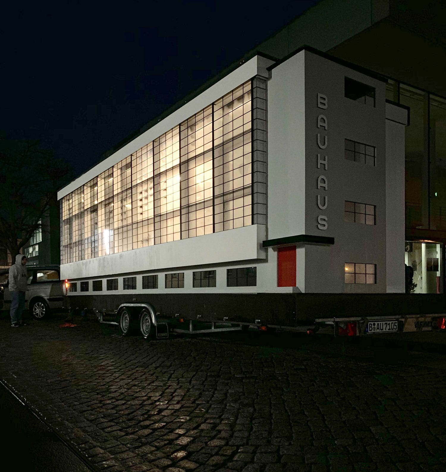 Bauhaus Bus on World Tour in Honour of the School's Centennial | Yellowtrace