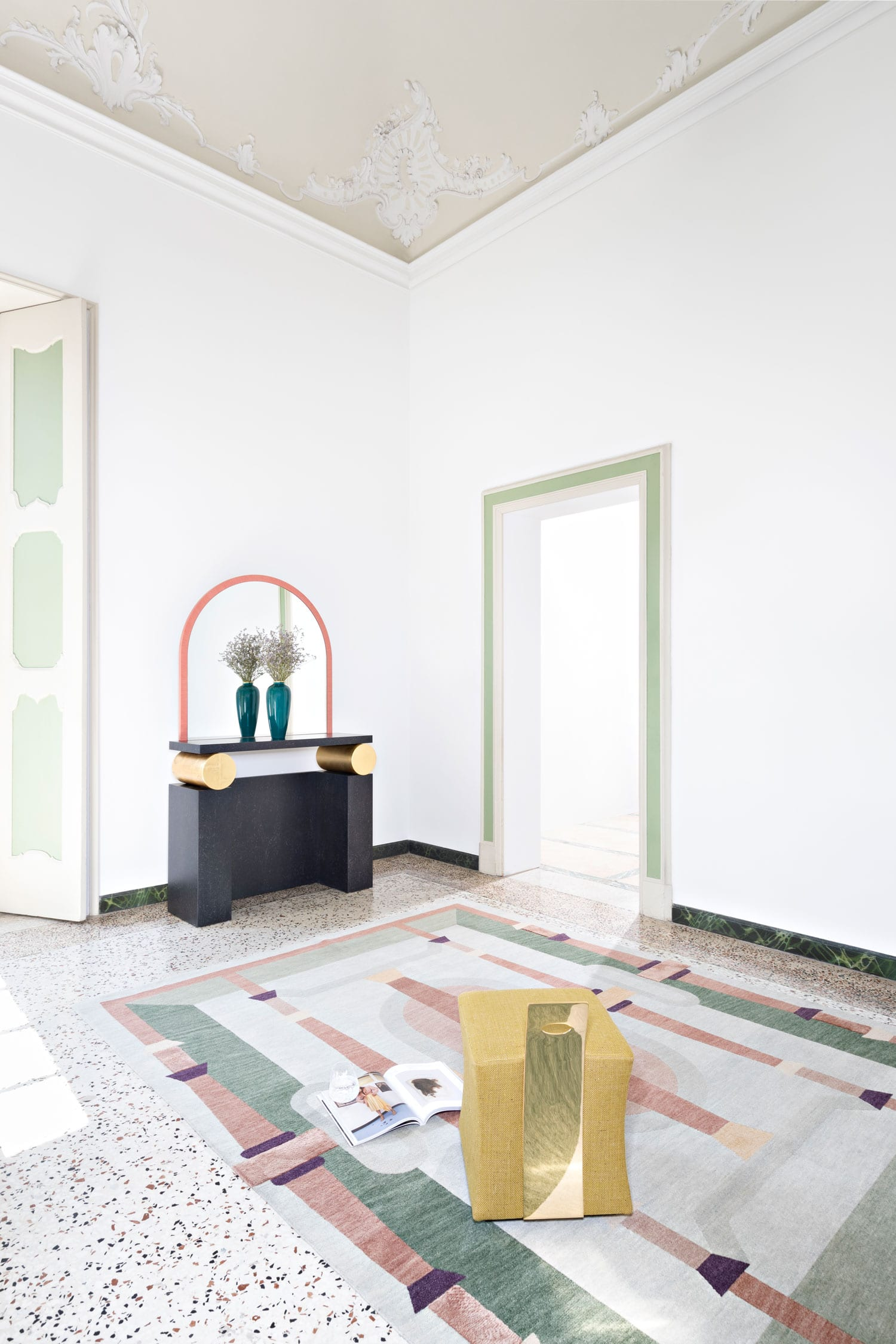 Cinquecento Collection by Studio Klass for CC Tapis Rugs   Yellowtrace