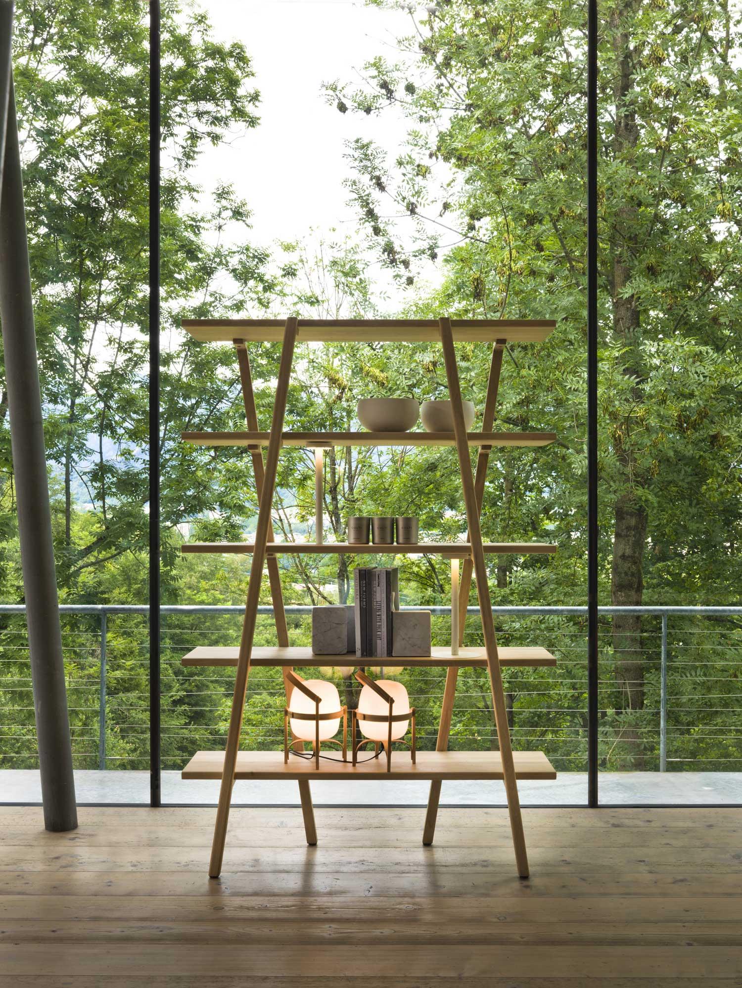 Etan Shelf by Simon Morasi Pipercic for Verzelloni at Imm Cologne 2019   Yellowtrace