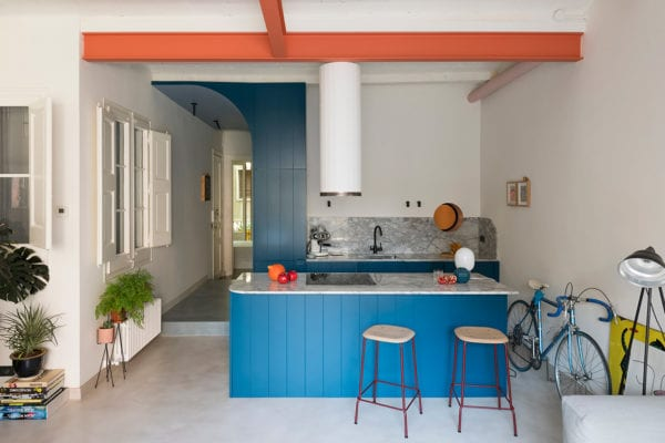 Font 6 Apartment in Barcelona by Colombo and Serboli Architecture   Yellowtrace