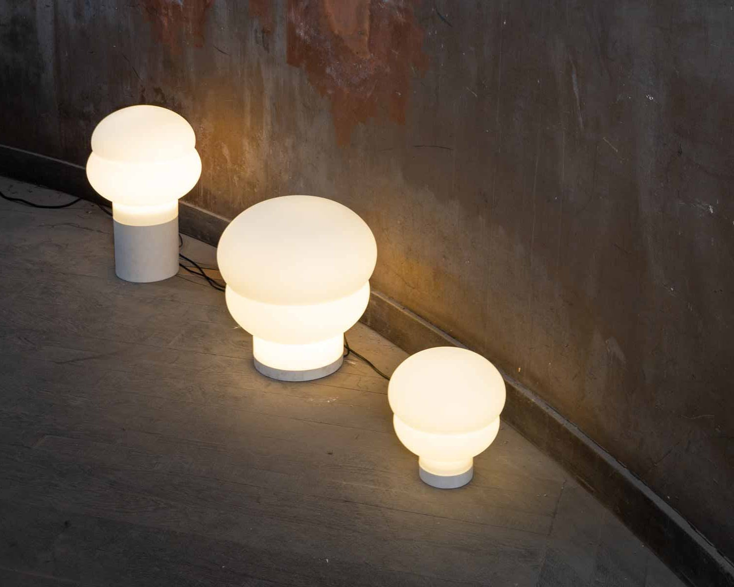 Kumo floor & table lamps by No Made Design for Pulpo at Maison & Objet 2019 | Yellowtrace