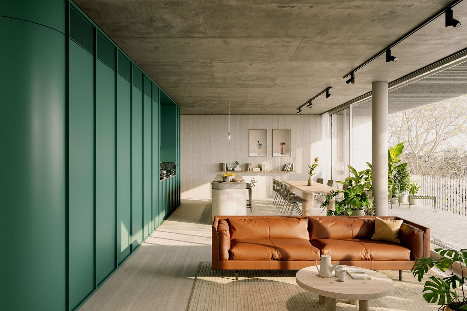 Milieu's 231 Napier Street Apartments in Fitzroy, Melbourne by Edition Office Launch For Sale | Yellowtrace