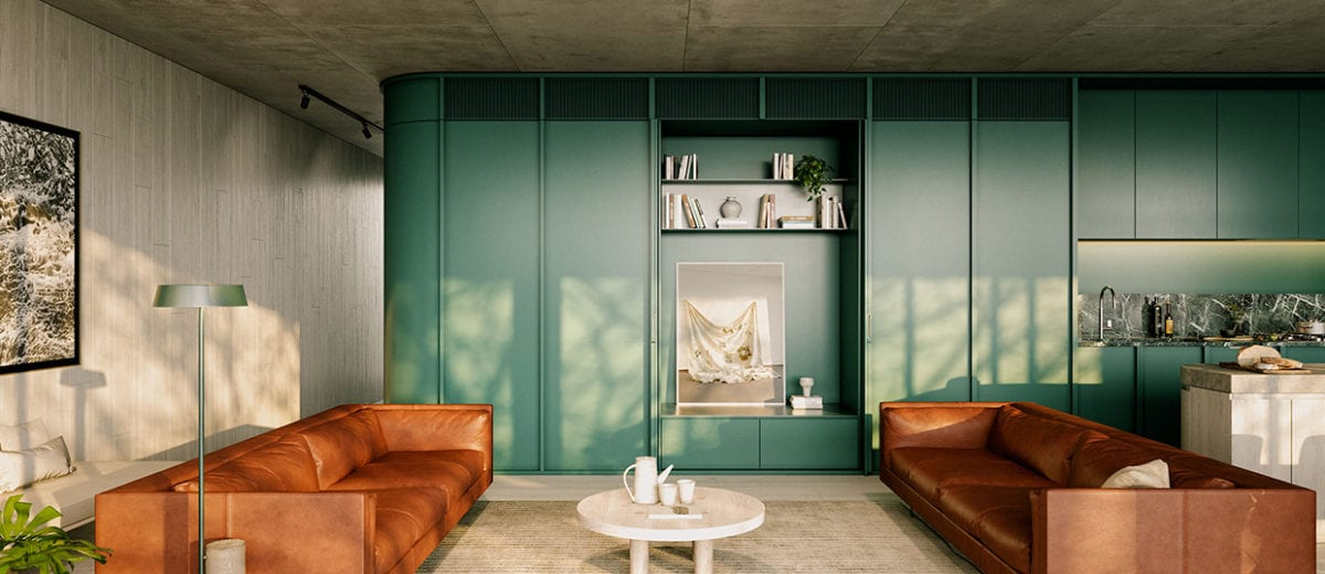 Milieu's 231 Napier Street Apartments in Fitzroy, Melbourne by Edition Office Launch For Sale   Yellowtrace