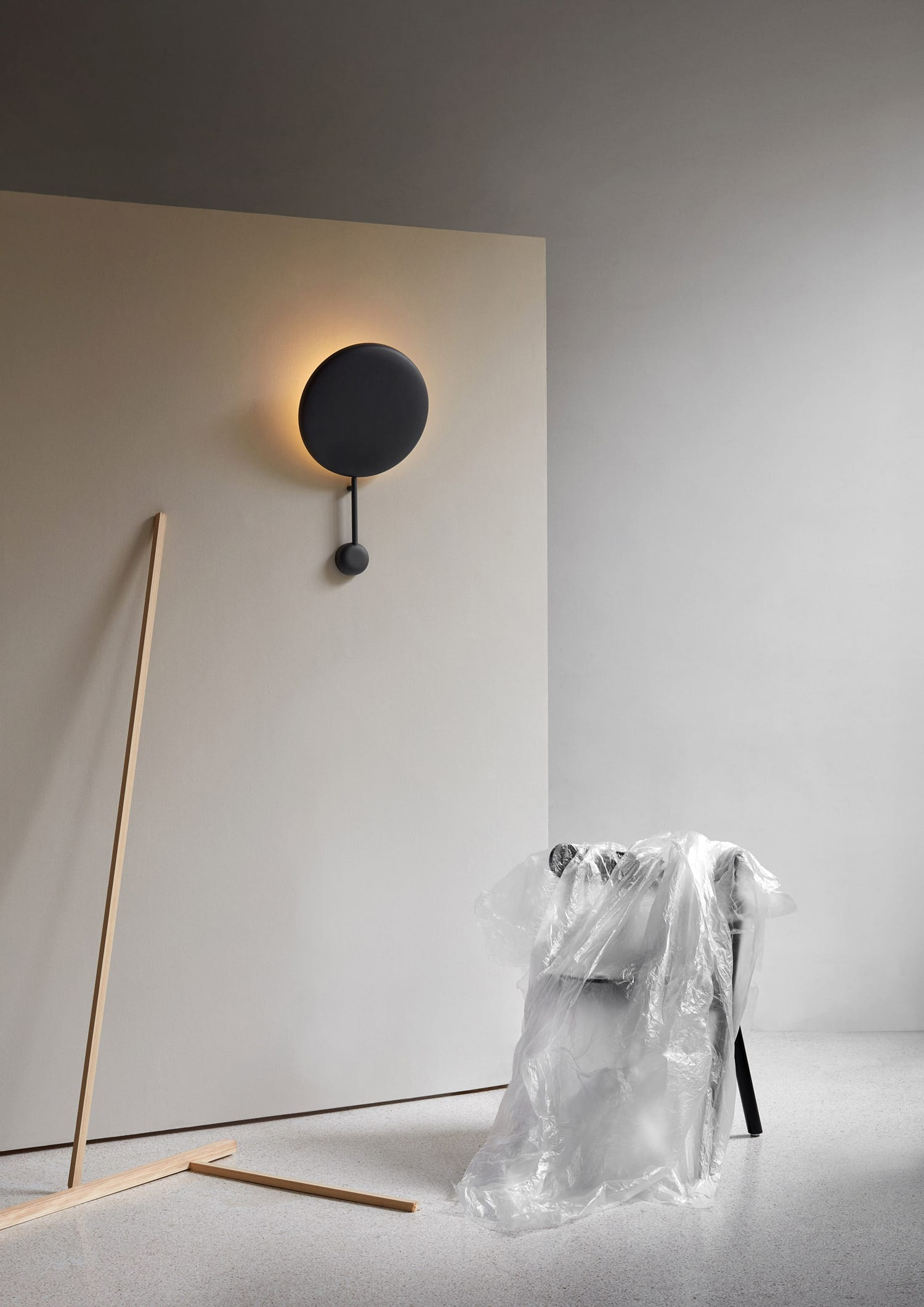 Ink wall lamp by Felix Isidorsson for Northern at Imm Cologne 2019   Yellowtrace