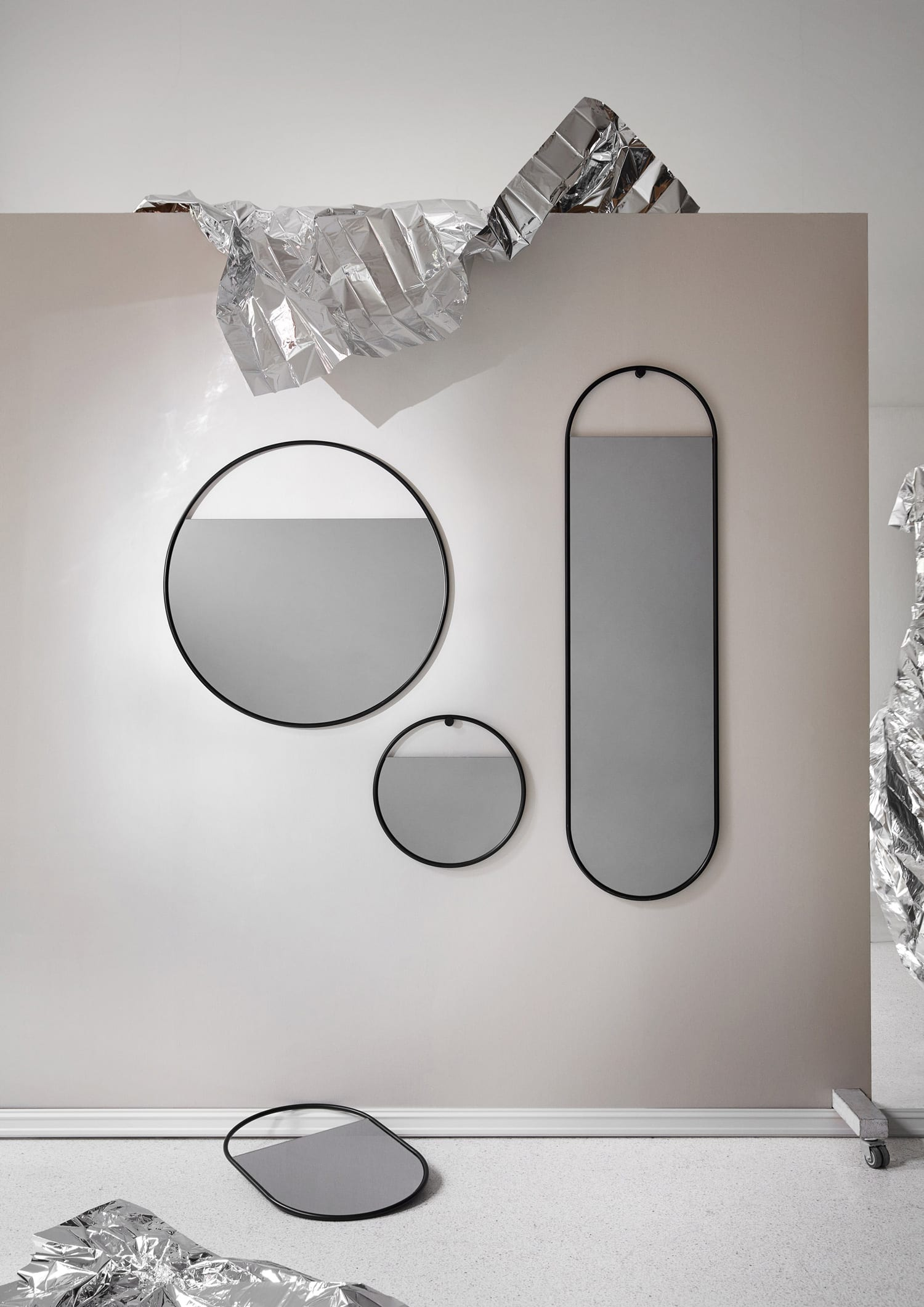 Peek Wall Mirror by Elina Ulvio for Northern at Imm Cologne 2019   Yellowtrace