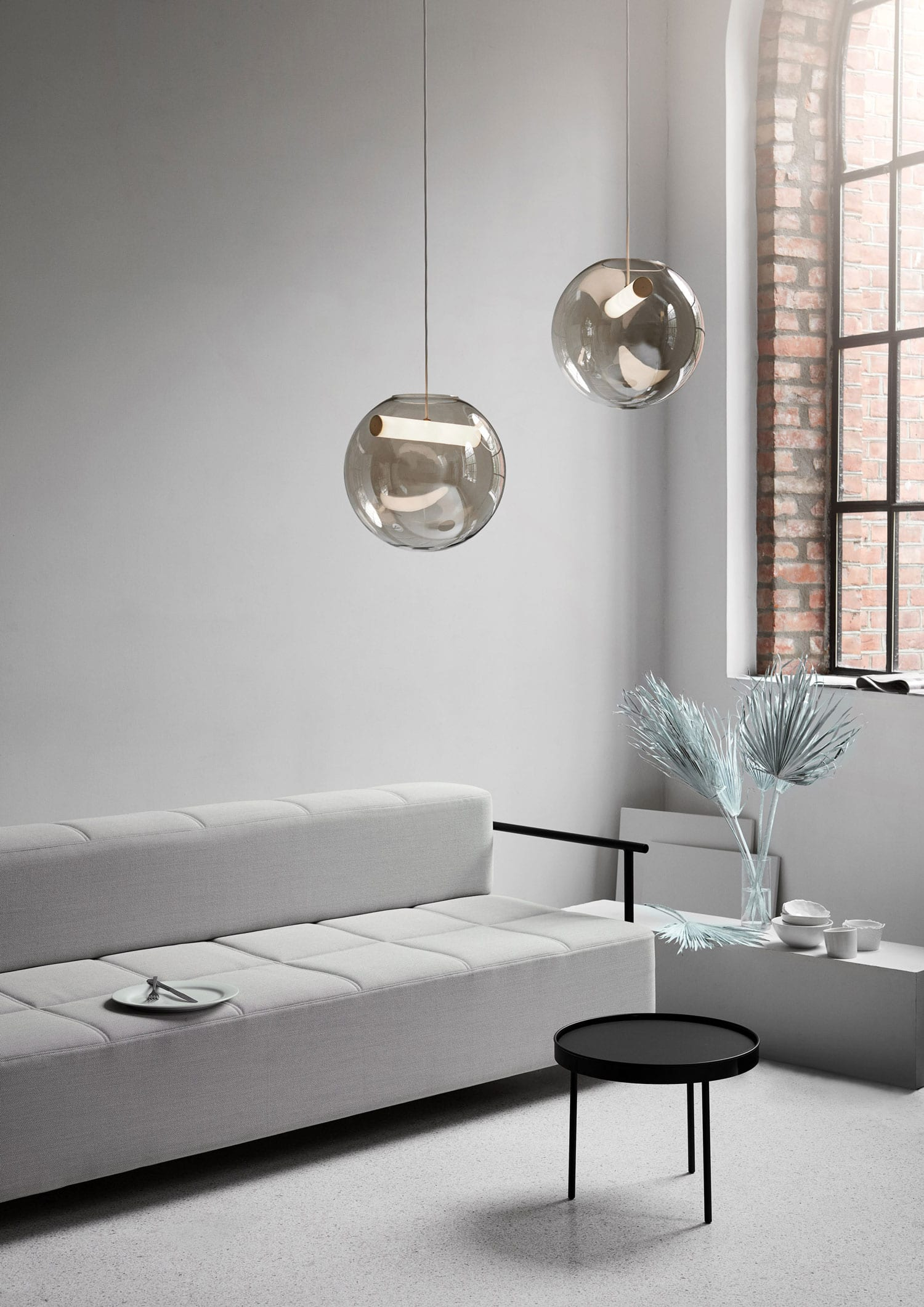 Reveal Pendant Lamp by Silje Nesdal for Northern at Imm Cologne 2019   Yellowtrace