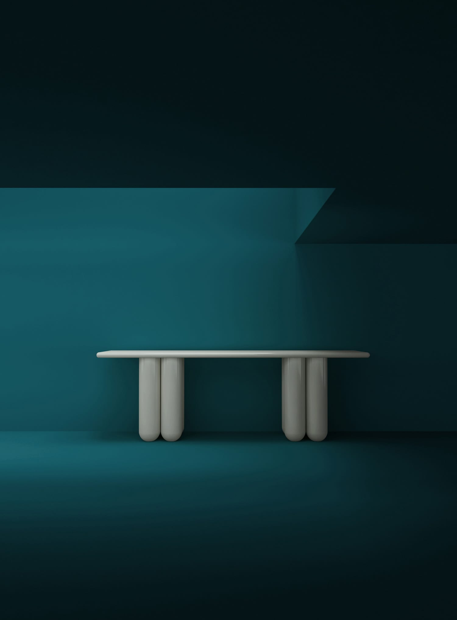 Rising Talents from China: Bold Bold Console Table Table by Frank Chou at Maison & Objet 2019 | Yellowtrace