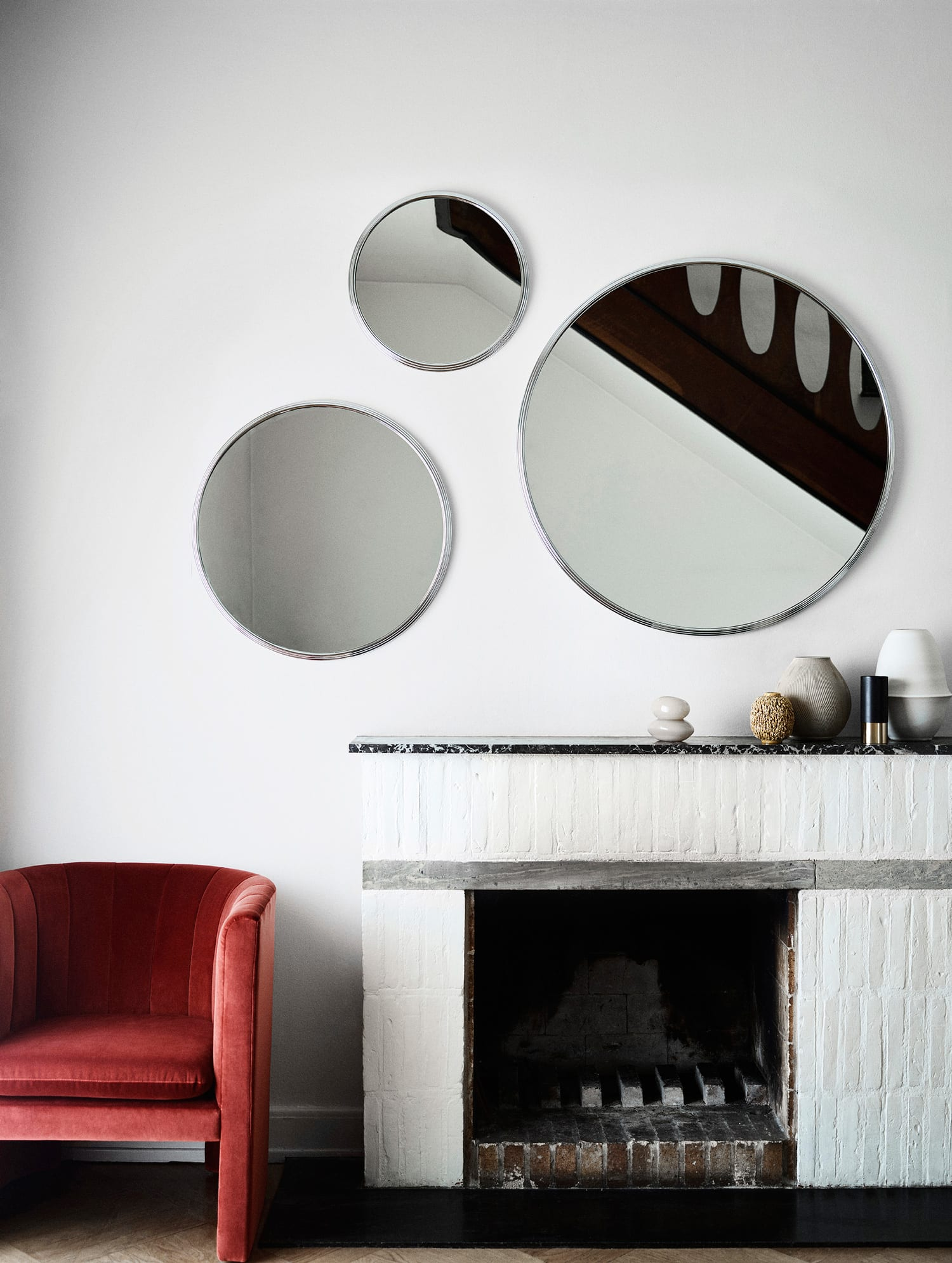 Sillon Mirrors by Sebastian Herkner for &Tradition at Imm Cologne 2019   Yellowtrace