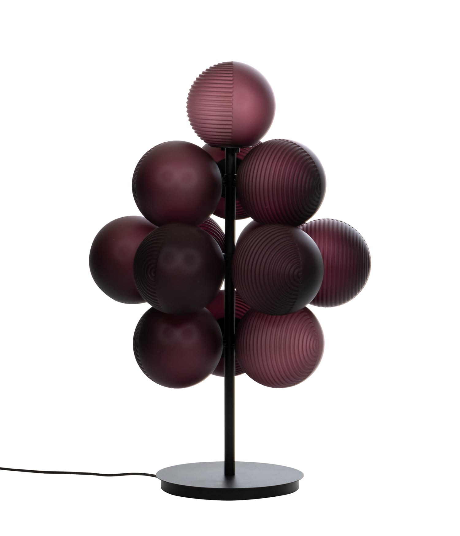 Stellar Grape lamp by Sebastian Herkner for Pulpo at Maison & Objet 2019 | Yellowtrace
