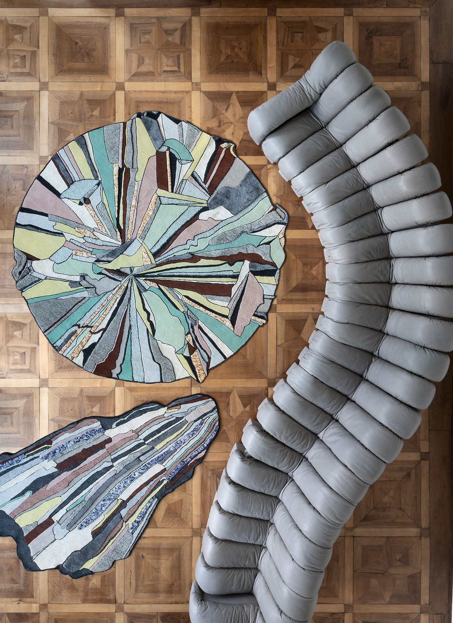 Super Fake Collection by Bethan Laura Wood for CC Tapis Rugs   Yellowtrace