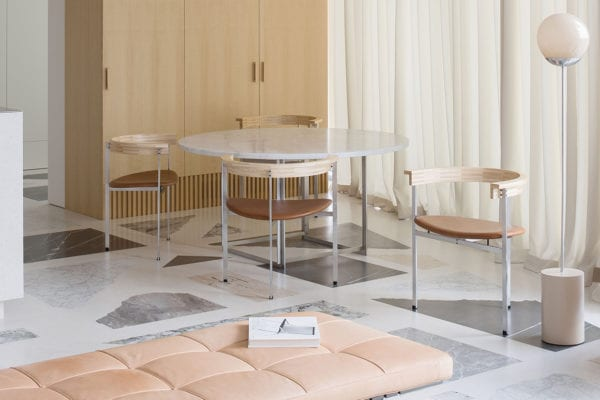 Terrazzo Marble Dreams: Apartment in Lithuania by DO Architects   Yellowtrace