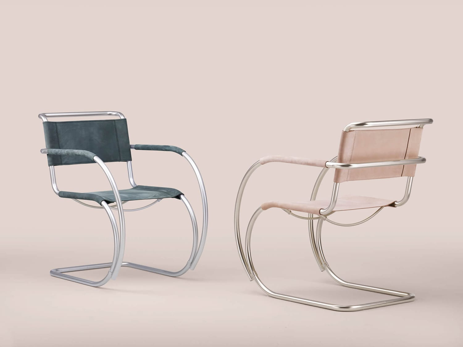 The S533 F Chair by Ludwig Mies van der Rohe (1927) reinterpreted by Studio Besau Marguerre (2018) for Thonet at Imm Cologne 2019   Yellowtrace