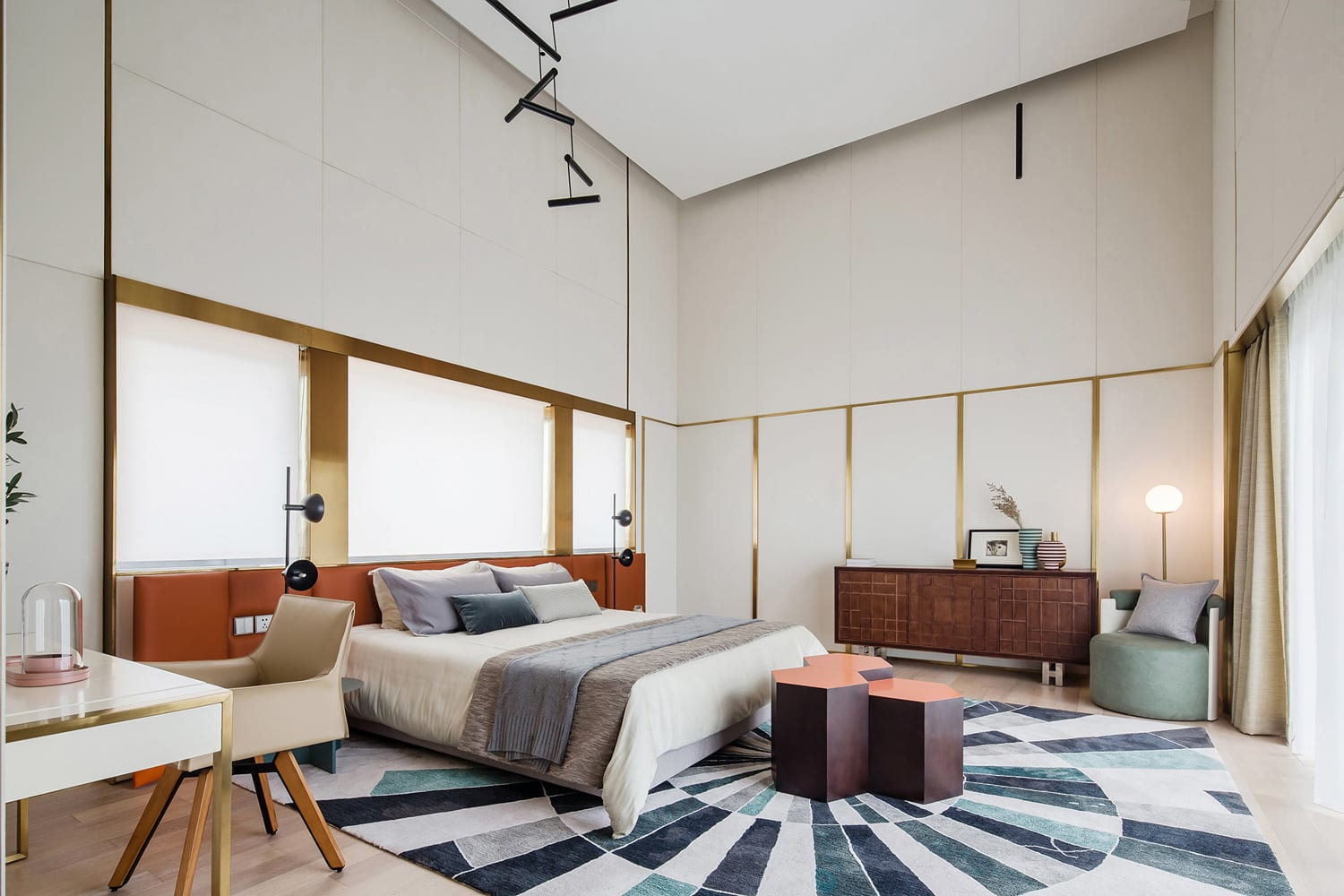 Tianjin Binhai Bay Fortune Center Residential Display Suite by Co-Direction Design   Yellowtrace