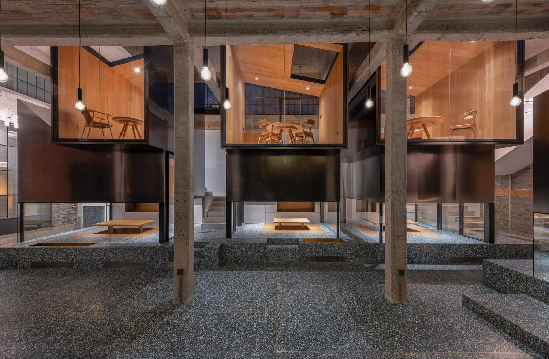 Tingtai Teahouse in Shanghai, China by Linehouse | Yellowtrace