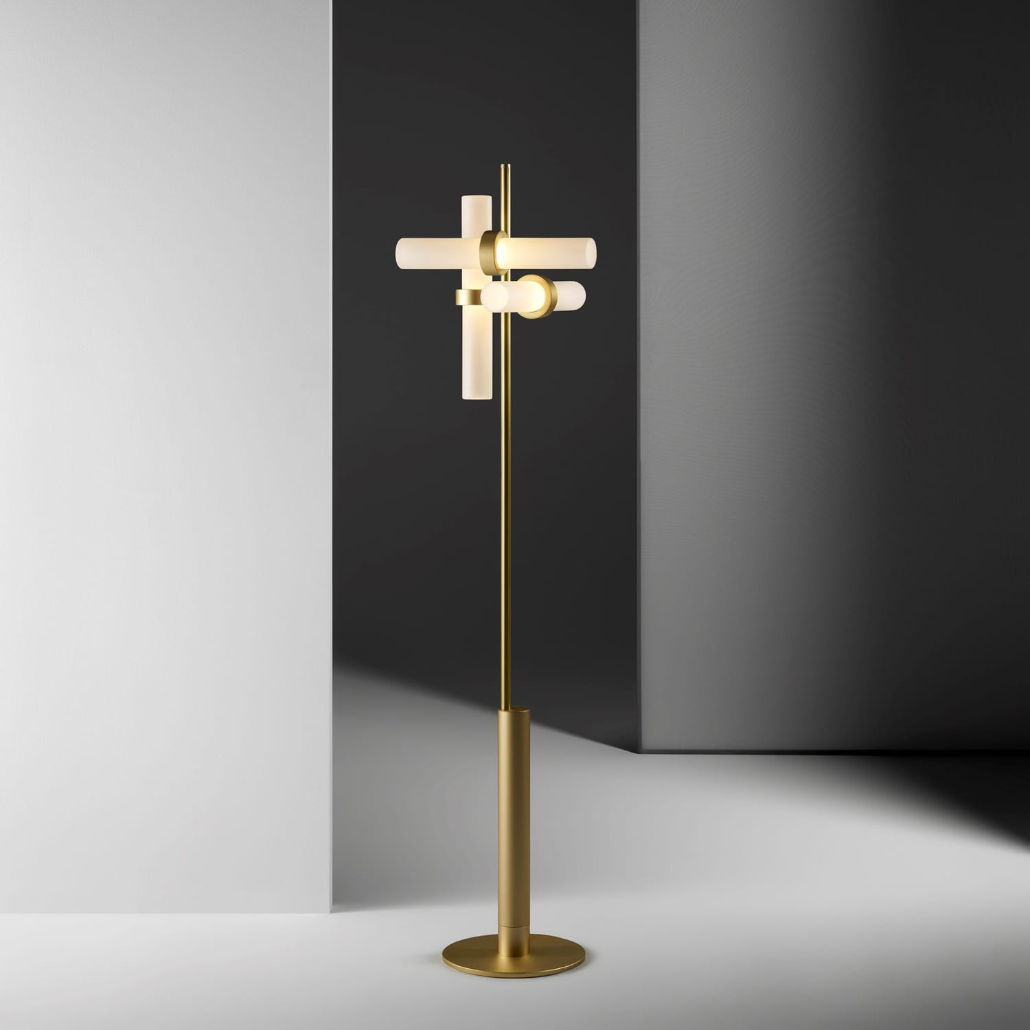 Typography Floor Lamp by Rakumb at Imm Cologne 2019   Yellowtrace