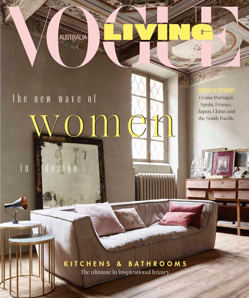 Vogue living september 2018 celebrating women special issue featuring dana tomic hughes yellowtrace