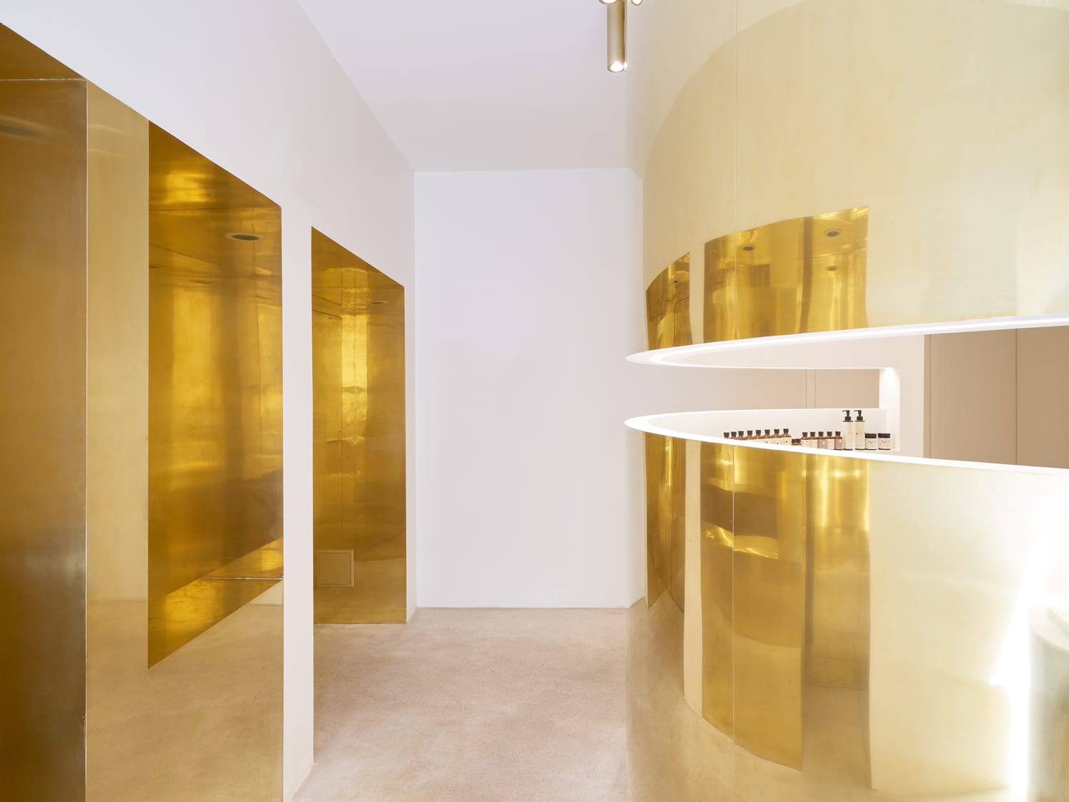 EN Japanese Cosmetic Brand Boutique in Paris by ARCHIEE | Yellowtrace