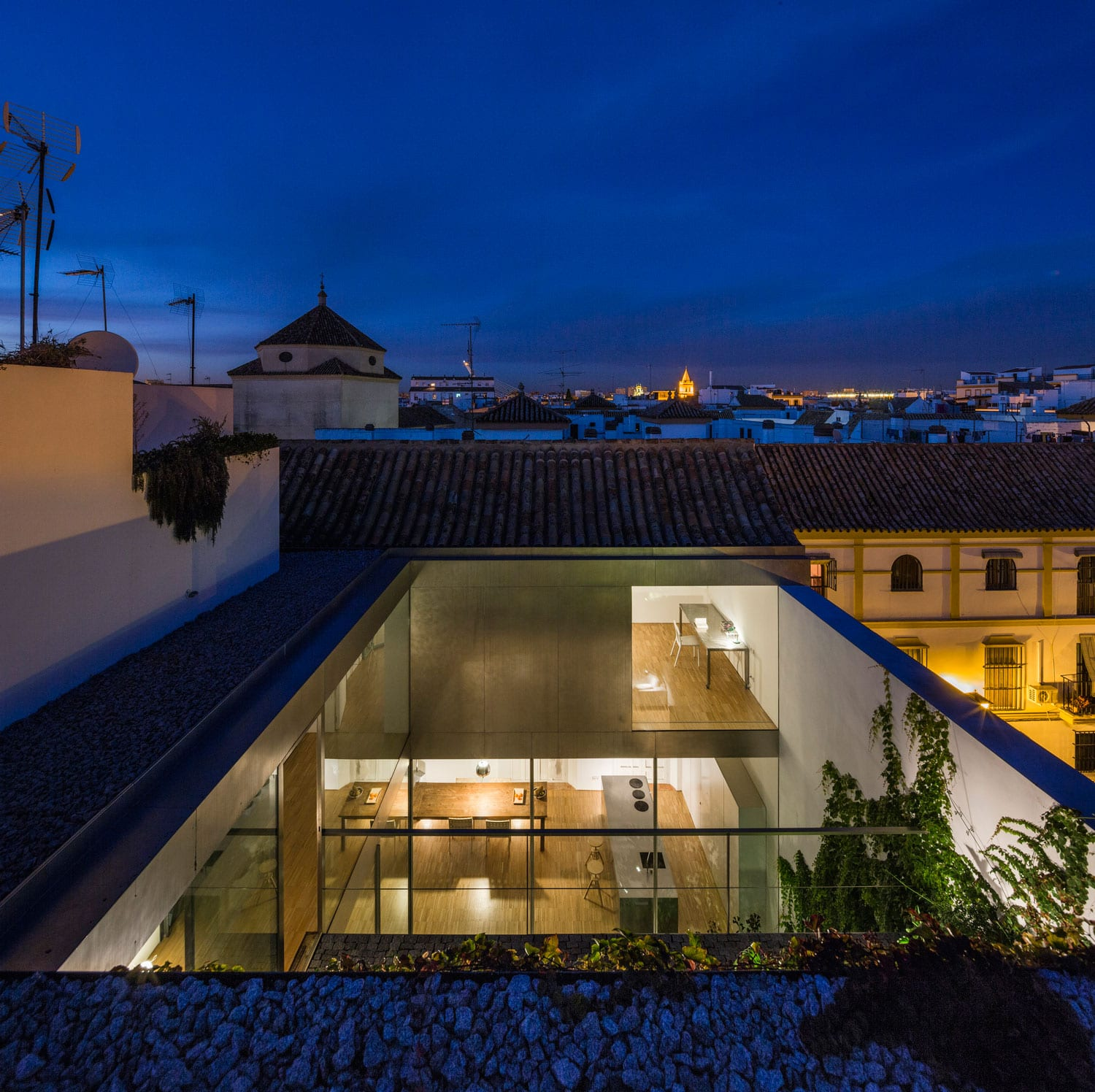 House in Seville, Spain by Harald Schönegger and Inmaculada González | Yellowtrace