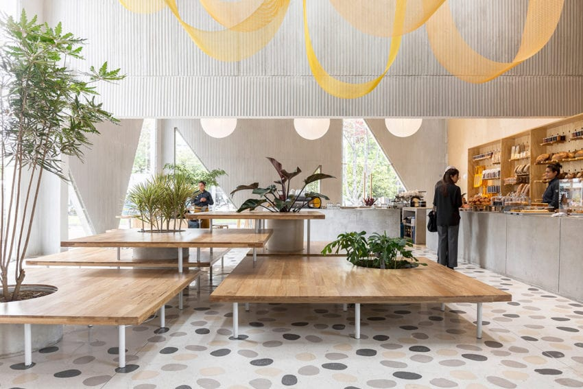 Masa Bakery in Bogota, Colombia by Studio Cadena | Yellowtrace