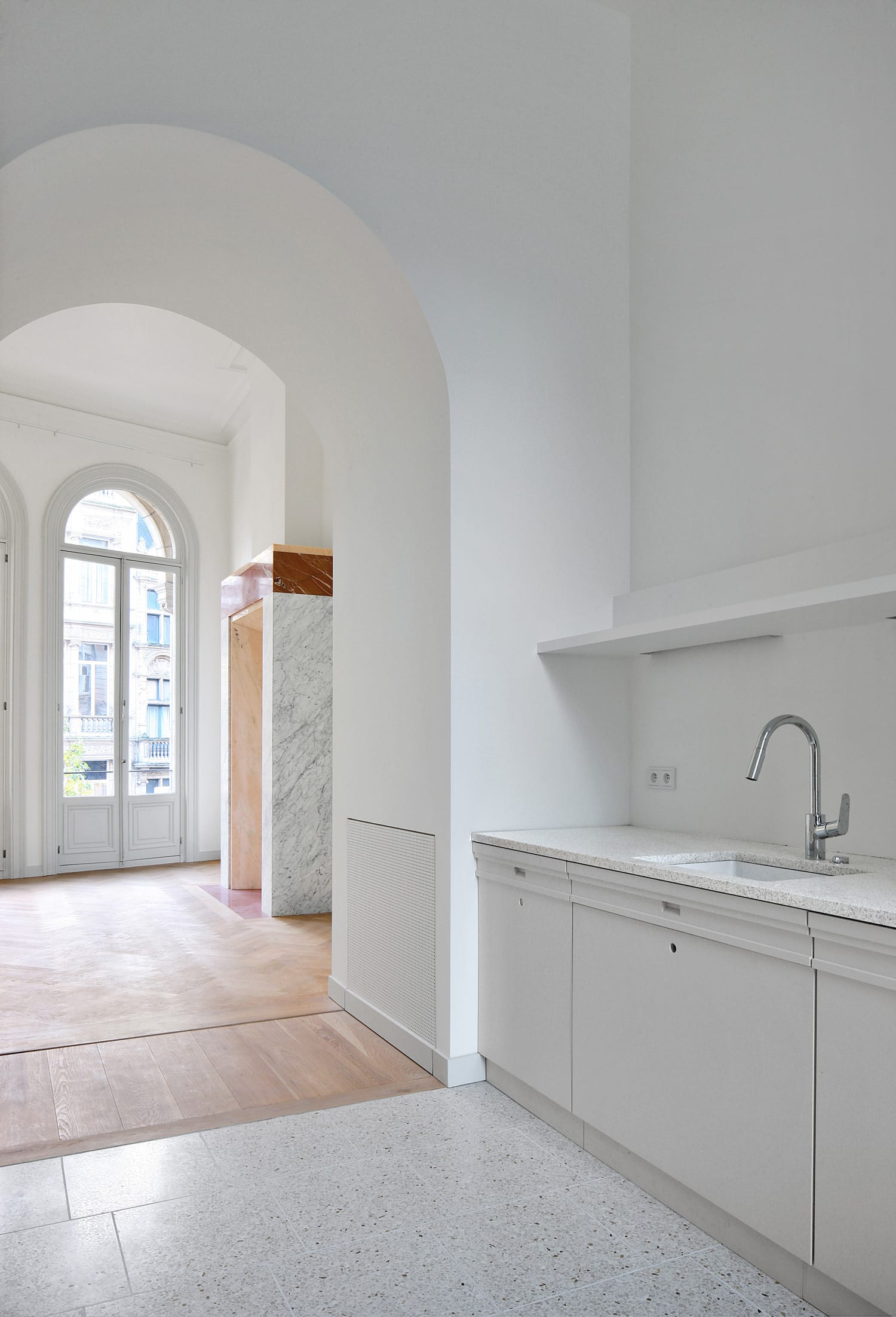Renovation of 3 Eclectic Buildings in Antwerp, Belgium by Bovenbouw | Yellowtrace