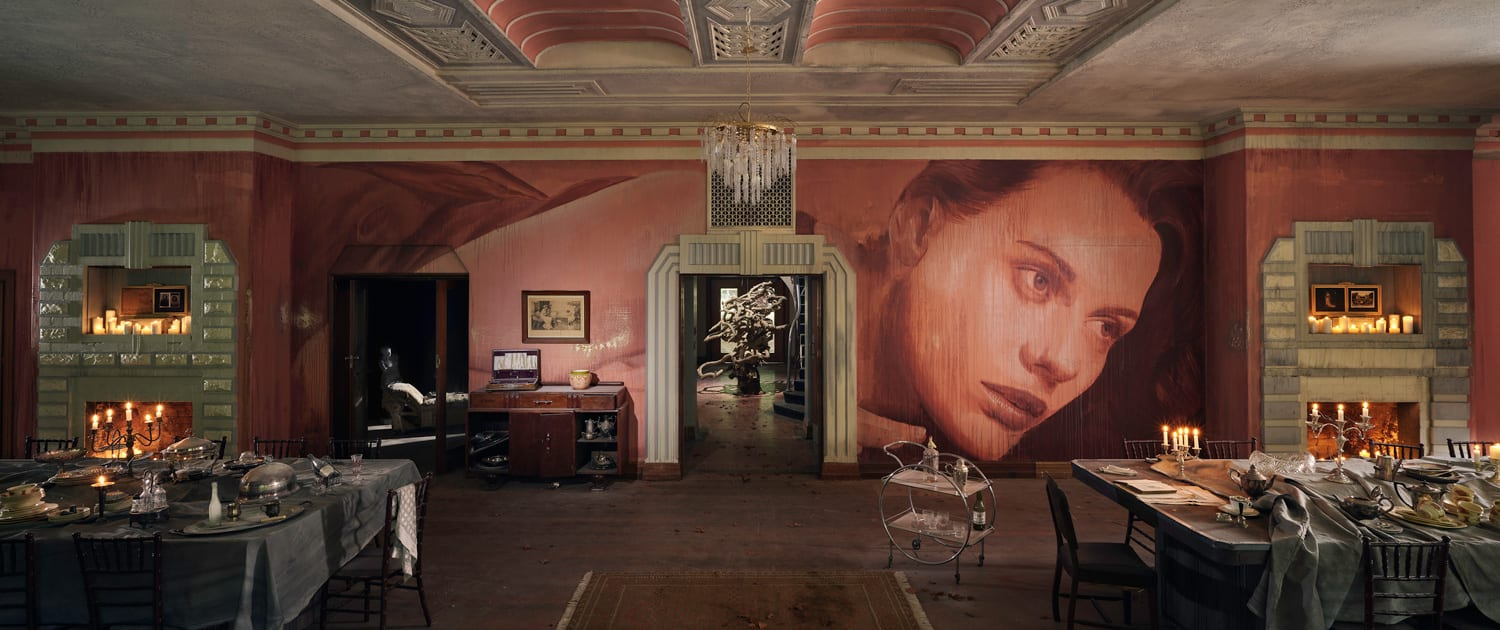 Rone Transforms Abandoned Art Deco Mansion in Melbourne | Yellowtrace