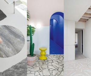 Six Projects with Rocking Stone Floors | Yellowtrace