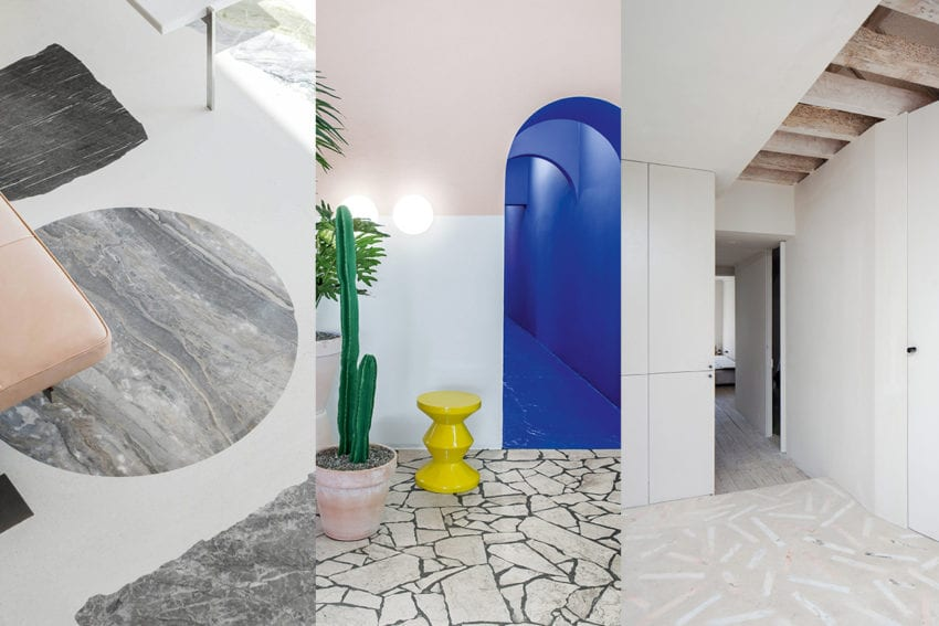 Six Projects with Rocking Stone Floors   Yellowtrace