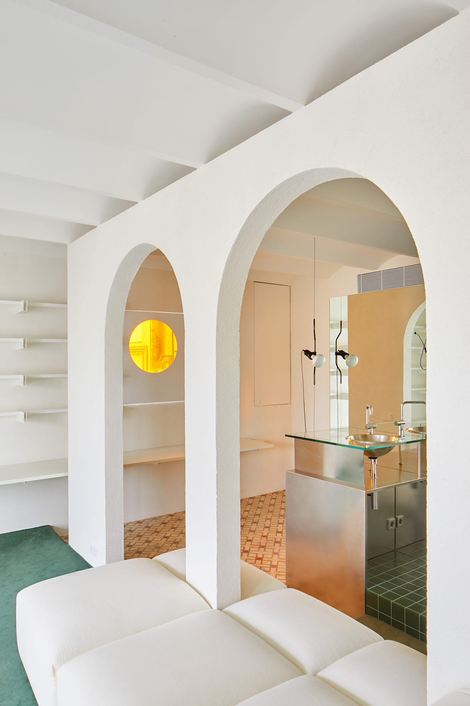 Smokin' Hot Barcelona Penthouse Filled with Arches and Plants by P-M-A-A | Yellowtrace