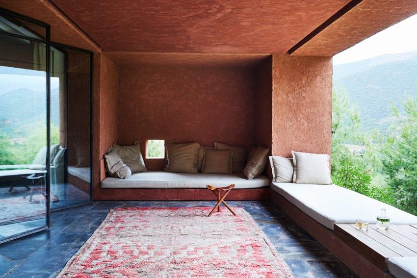 Tigmi Trading Rug Collection Shot Inside Studio KO's Villa E in Morocco   Yellowtrace