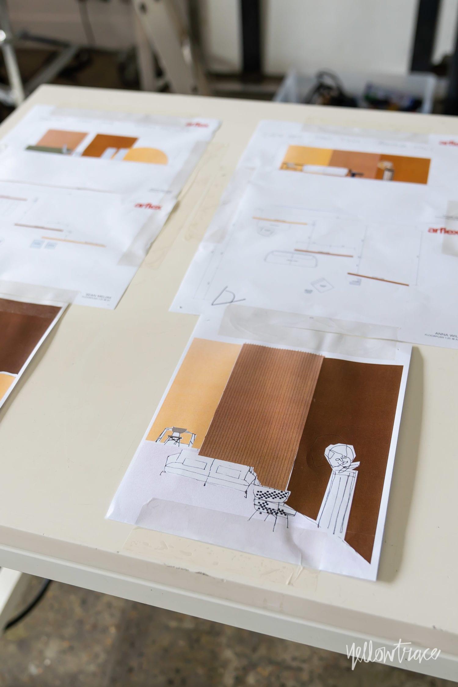 Yellowtrace X Arflex Art – Design – Arflex Campaign BTS. Photo by Nick Hughes | Yellowtrace